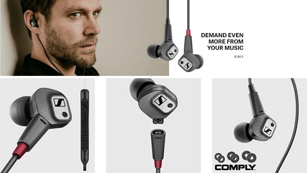 Sennheiser Ie 80 S In Ear Noise Isolating Headphones (4)