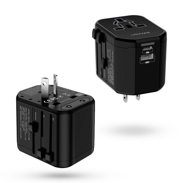 Usams T16 Universal Pd And Pc Fast Travel Charger (2)