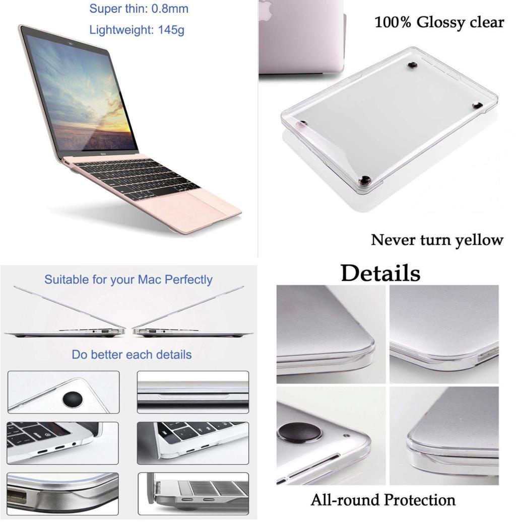 Wiwu Ishield Ultra Thin Hard Shell For Macbook 12 13 13 3 15 4 Inch (1)