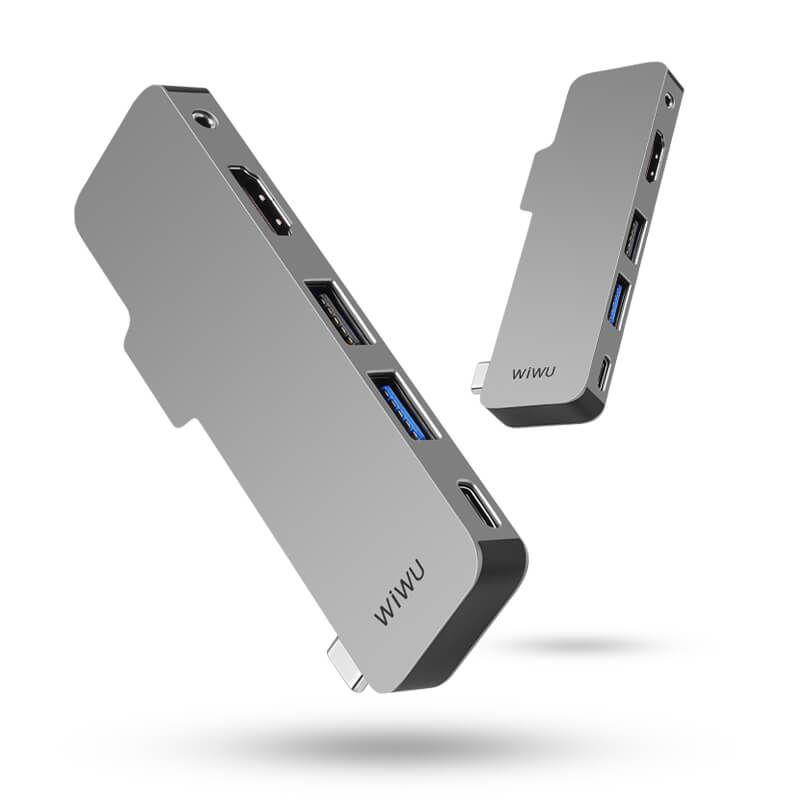 Wiwu T5 Macbook Hub Usb C With Hdmi Supplier (2)