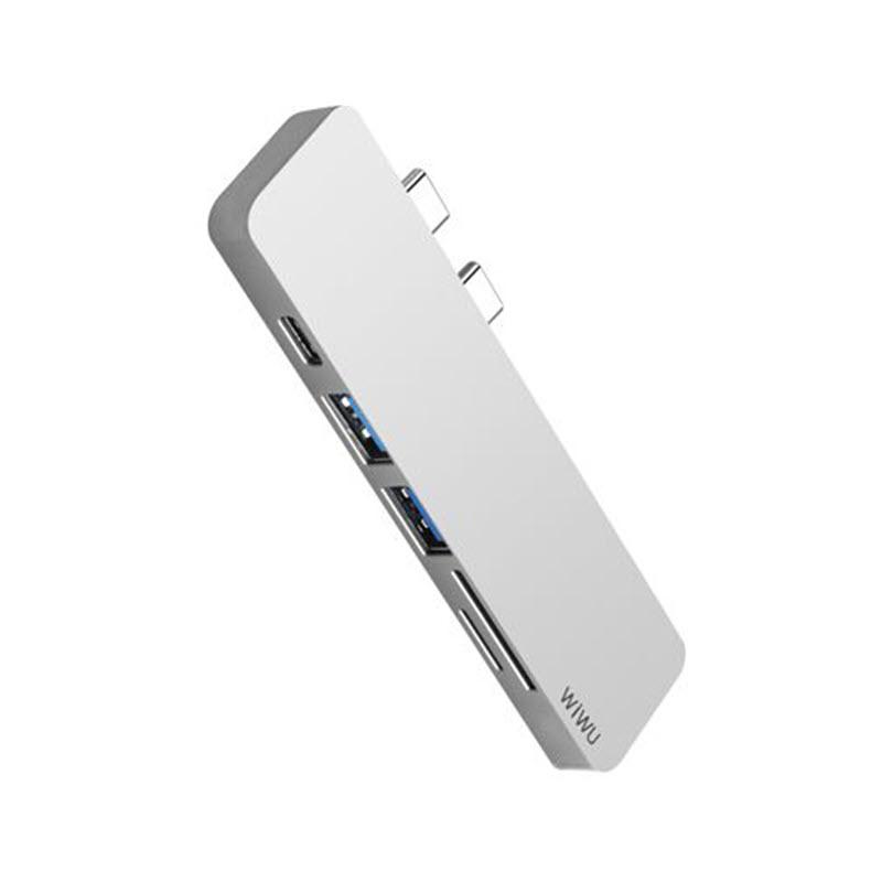 Wiwu T8 Lite 5 In 1 Type C Hub Adapter (3)