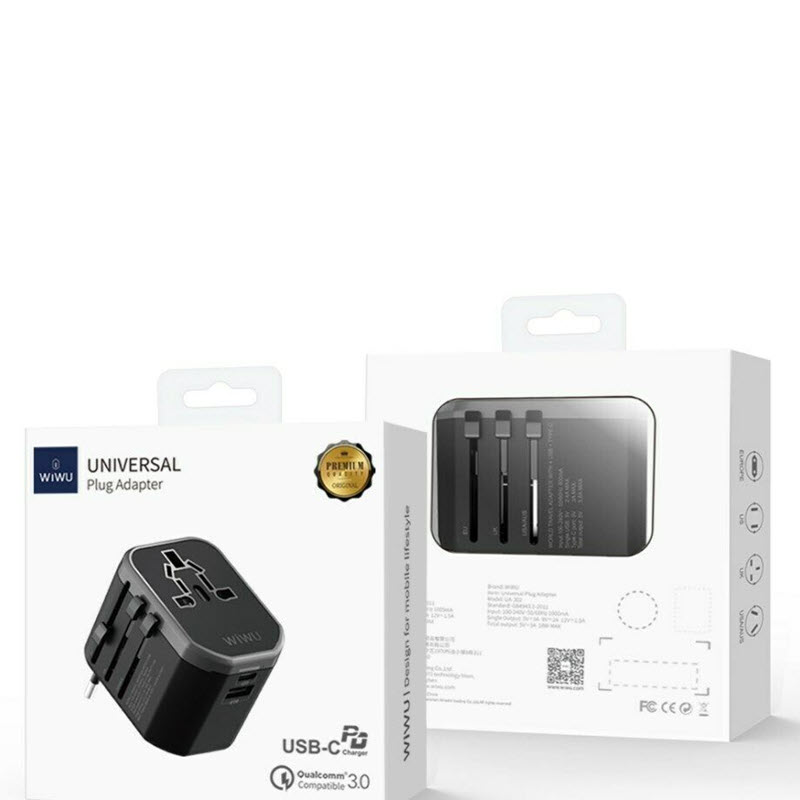 Wiwu Ua 302 Multi Function Travel Adapter (4)