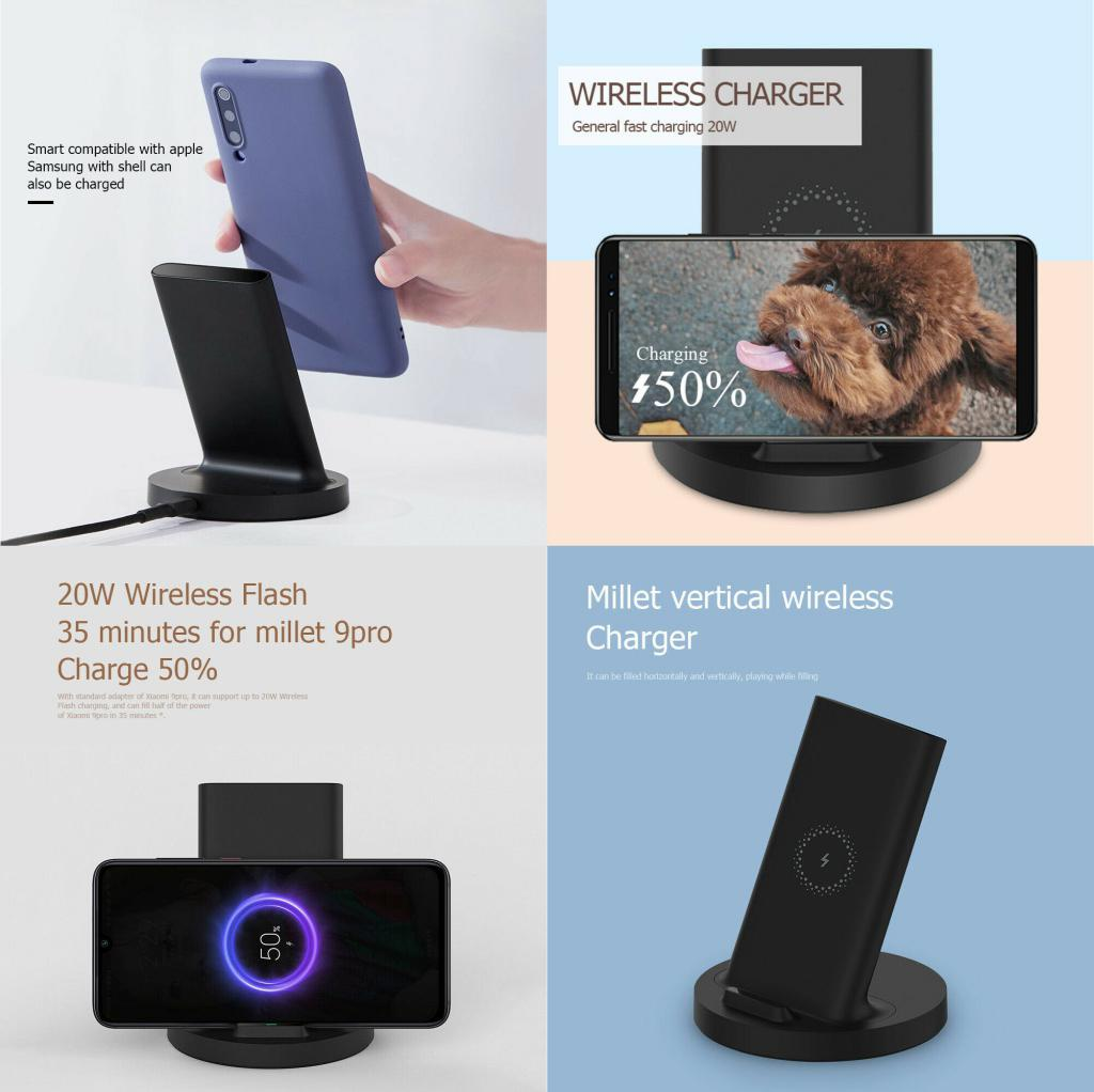 Xiaomi 20w Vertical Wireless Charger (4)