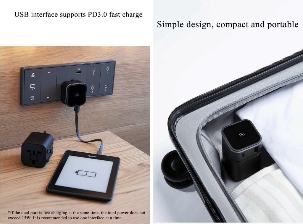 Xiaomi 90fen 2 In 1 Multi Function Conversion Plug (3)