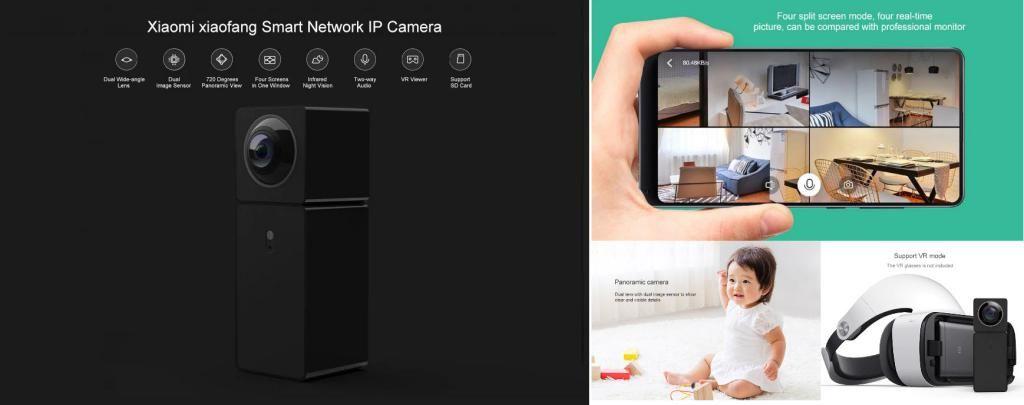 Xiaomi Hualai Xiaofang 1080p Dual Lens 360 Panoramic Camera (4)