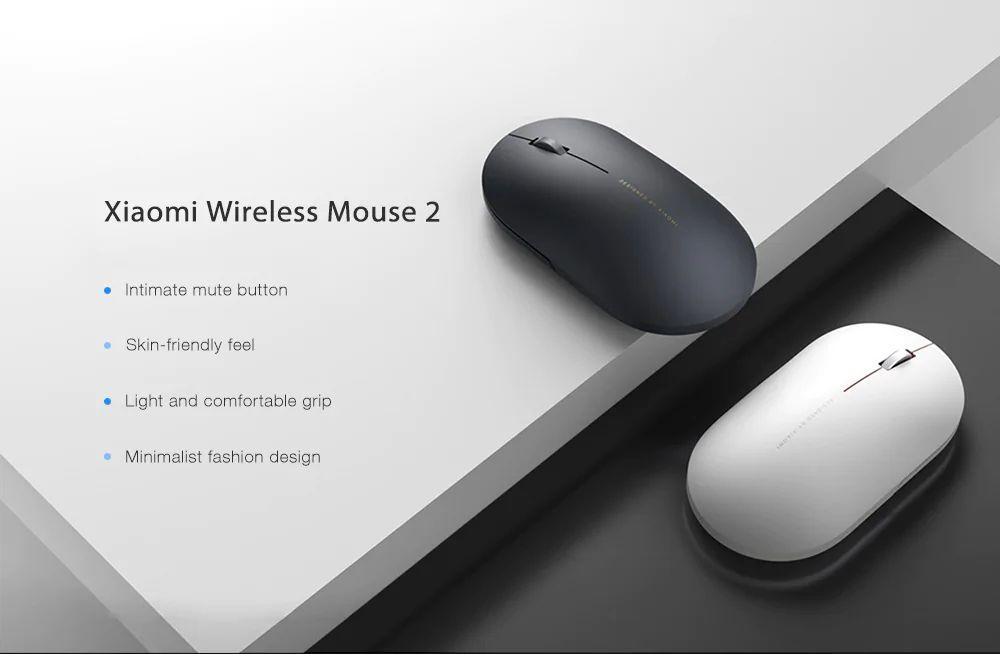 Xiaomi Wireless Mouse 2 Mute 1000dpi 2 4ghz (1)
