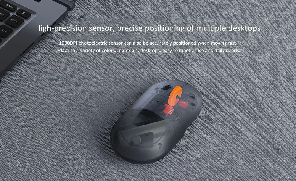 Xiaomi Wireless Mouse 2 Mute 1000dpi 2 4ghz (3)
