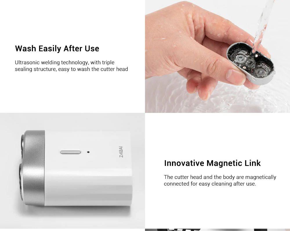 Xiaomi Zhibai Mini Washable Electric Shaver (2)