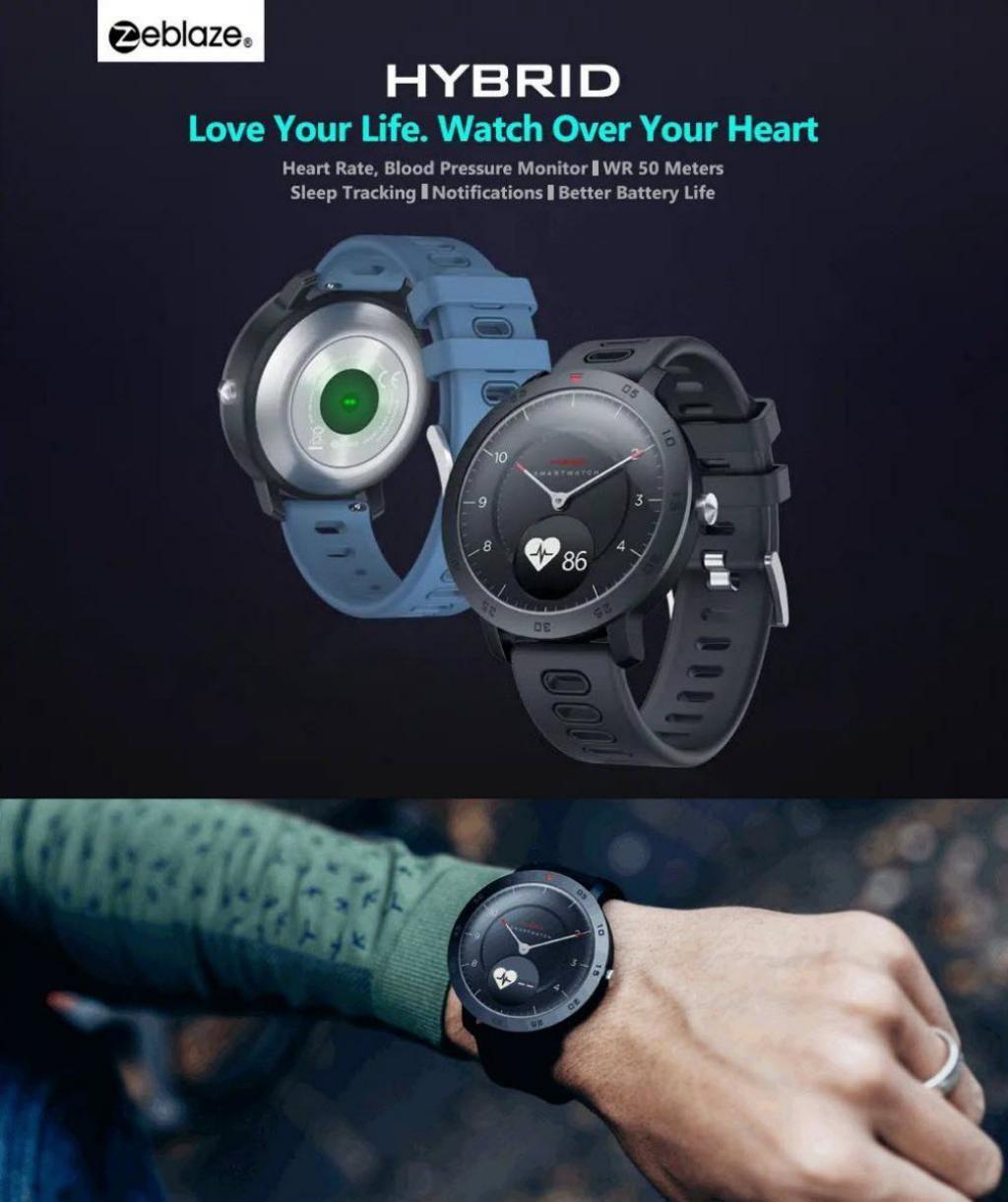 Zeblaze Hybrid Dual Modes Mechanical Smart Watch (5)