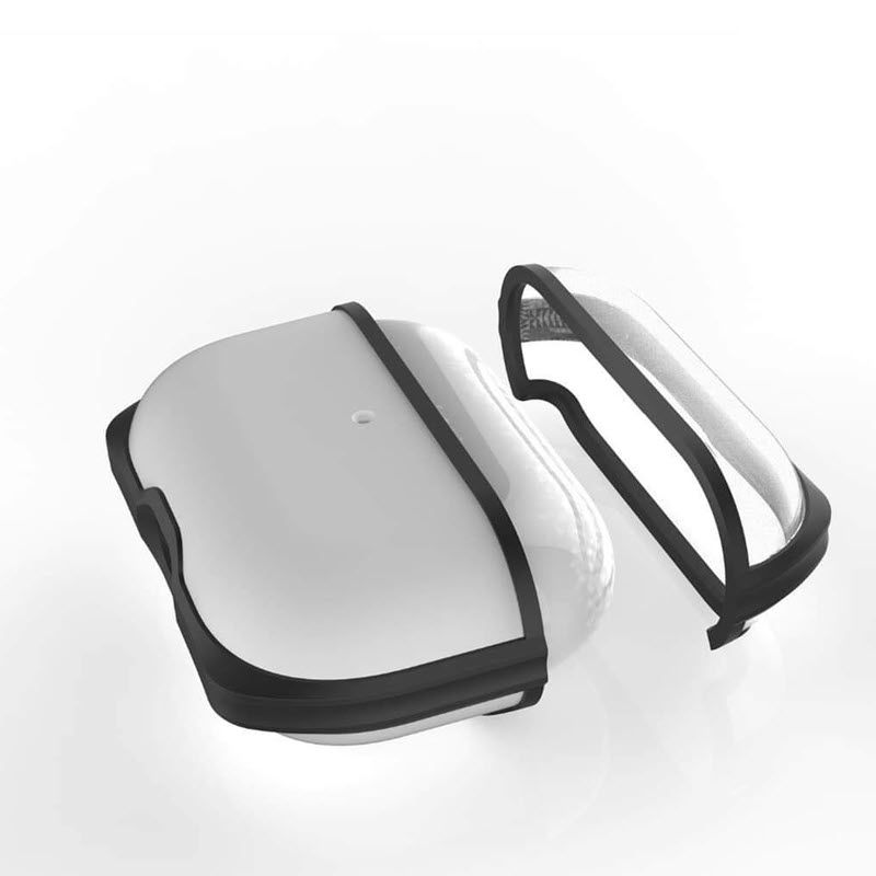 Eggshell Transparent Case For Airpods Pro