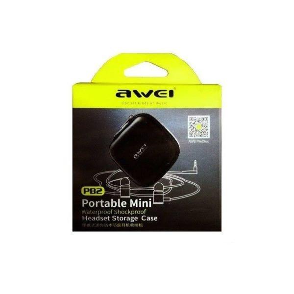 Awei Pb2 Waterproof Earphone Storage Case (1)