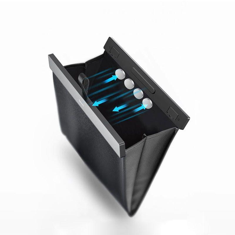 Baseus Car Organizer Pu Leather Back Seat Storage Bag (2)