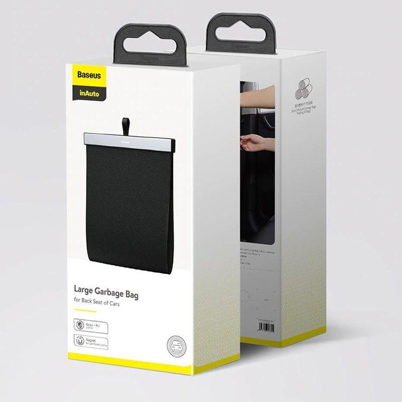 Baseus Car Organizer Pu Leather Back Seat Storage Bag (3)