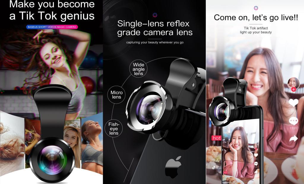 Baseus Hd 120 Degree Wide Angle Camera Lens (4)