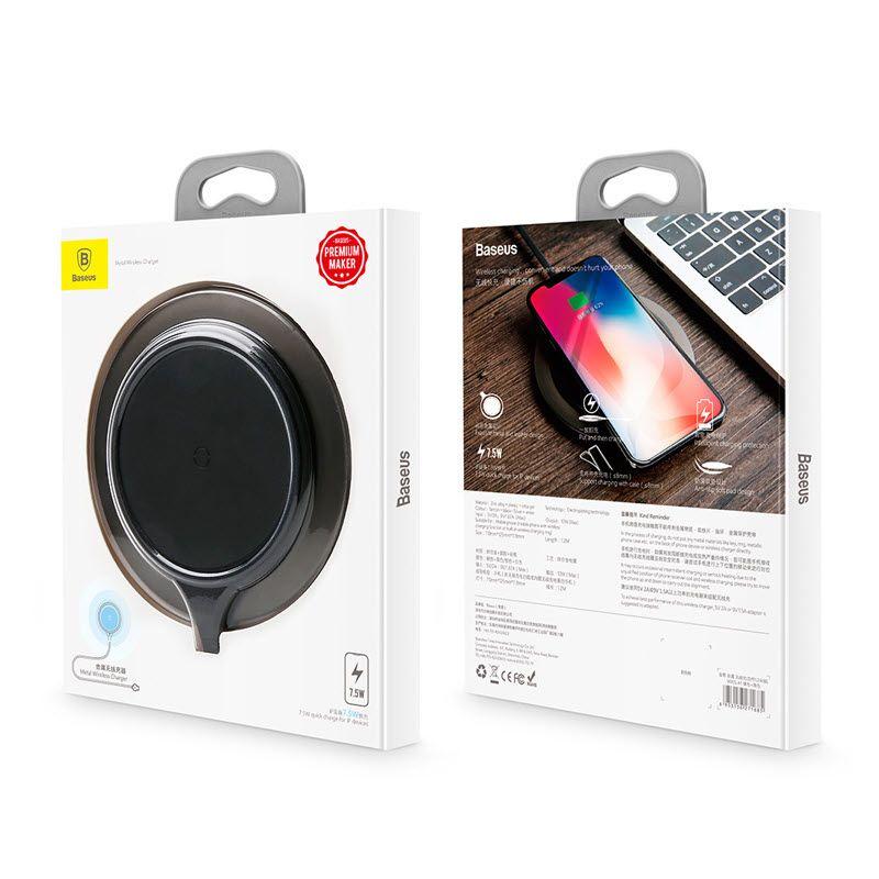 Baseus Metal Wireless Charger (1)