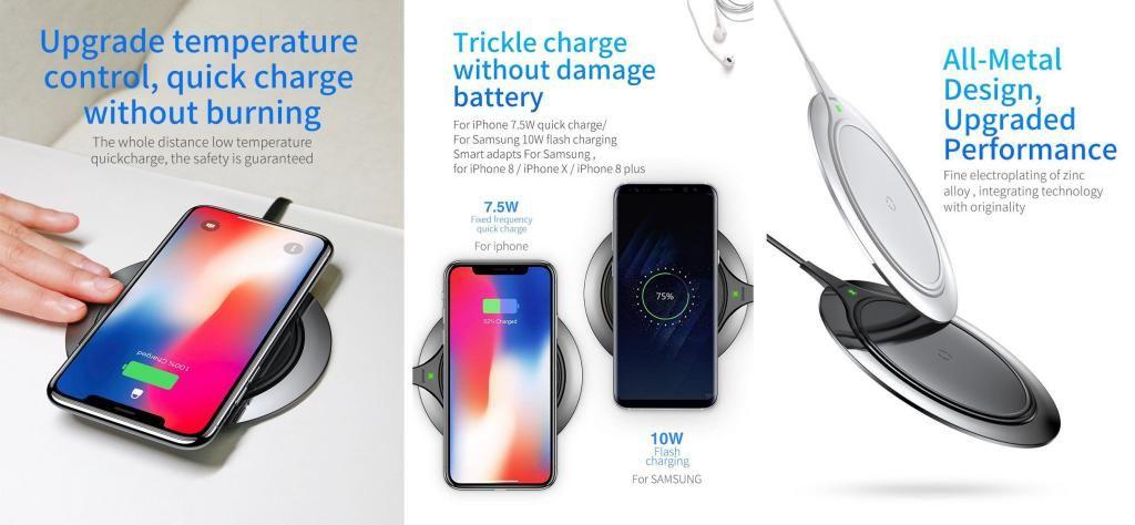 Baseus Metal Wireless Charger (4)