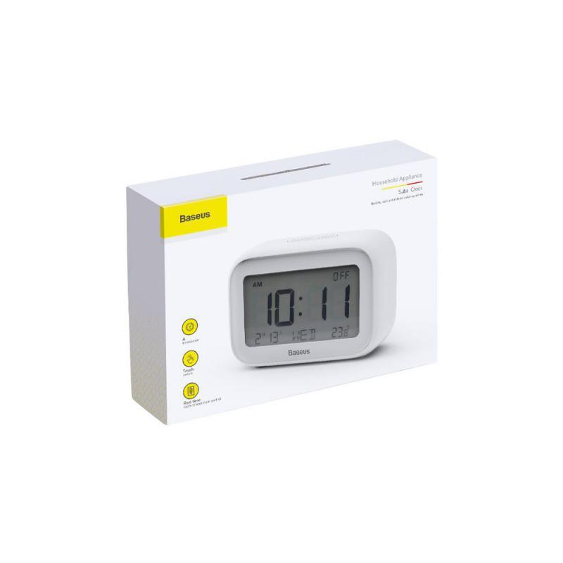 Baseus Multifunctional Silent Desktop Subia Clock (4)
