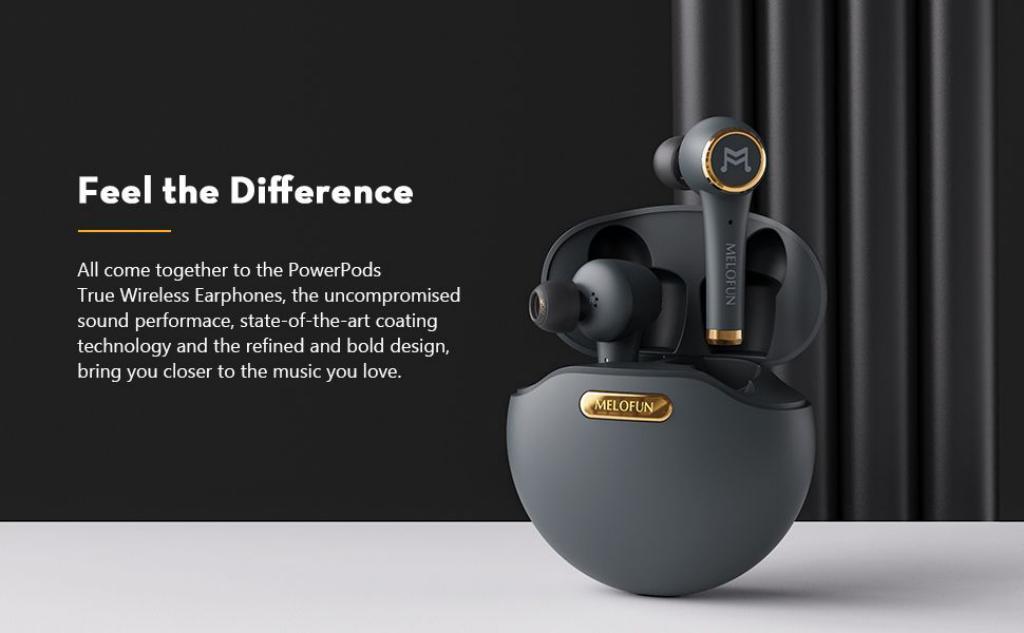 Btwear Powerpods Tws Noise Cancelling Stereo Wireless Earbuds (2)