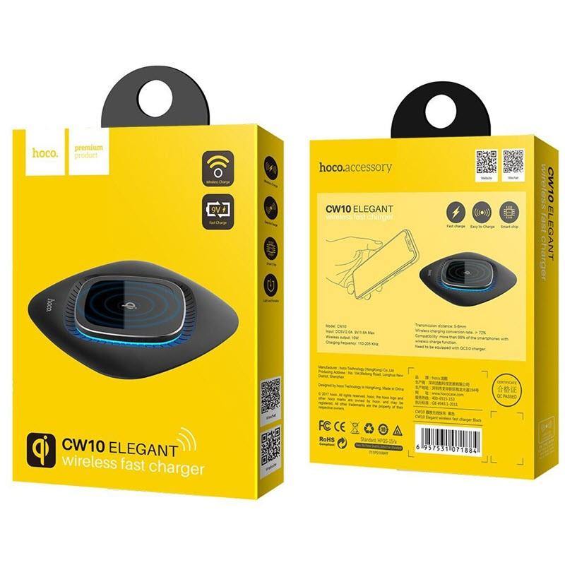 Hoco Cw10 Elegant 10w Wireless Charging Pad (3)