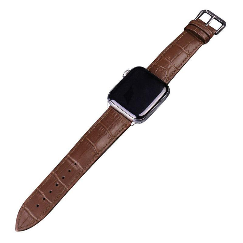 Leather Watch Strap For Apple Watch Series (2)