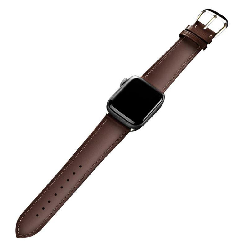 Leather Watch Strap For Apple Watch Series (3)