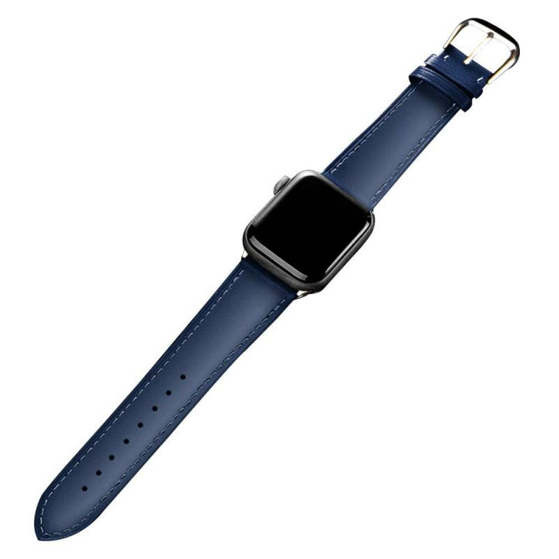 Leather Watch Strap For Apple Watch Series (7)