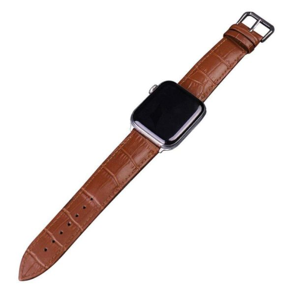 Leather Watch Strap For Apple Watch Series (8)