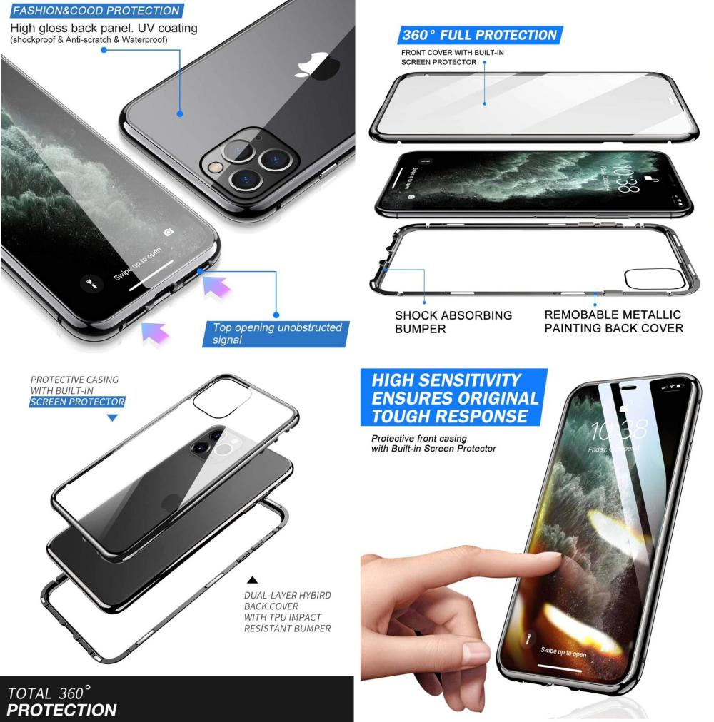 Magnetic Adsorption Case For Iphone 11 (1)