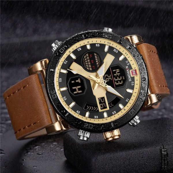 Naviforce 9132 Dual Display Digital Watch (1)
