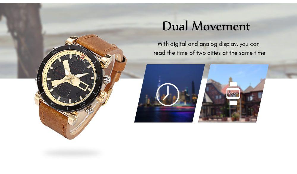 Naviforce 9132 Dual Display Digital Watch (2)