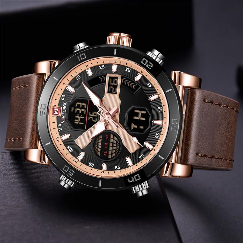 Naviforce 9132 Dual Display Digital Watch (3)