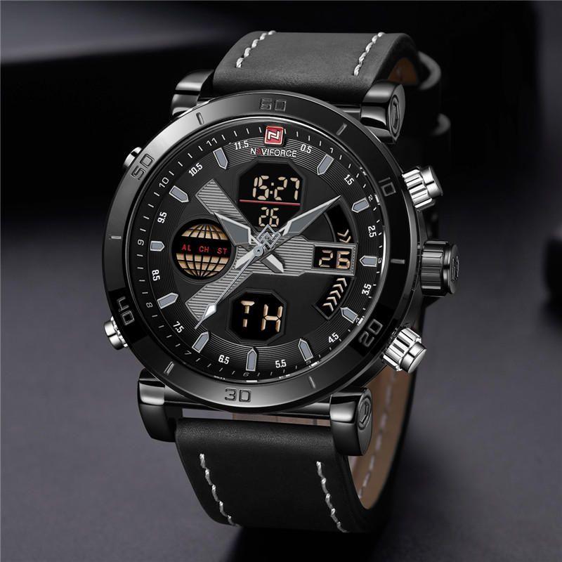 Naviforce 9132 Dual Display Digital Watch (4)