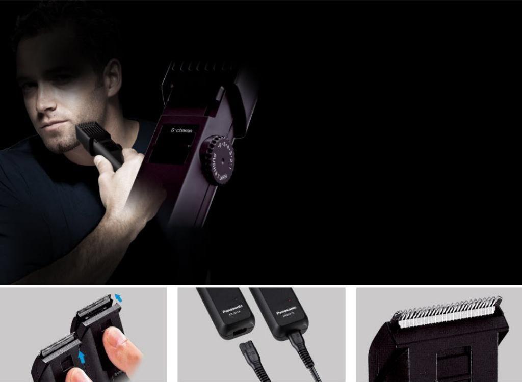 Panasonic Er 2031k Beard Hair Trimmer (2)