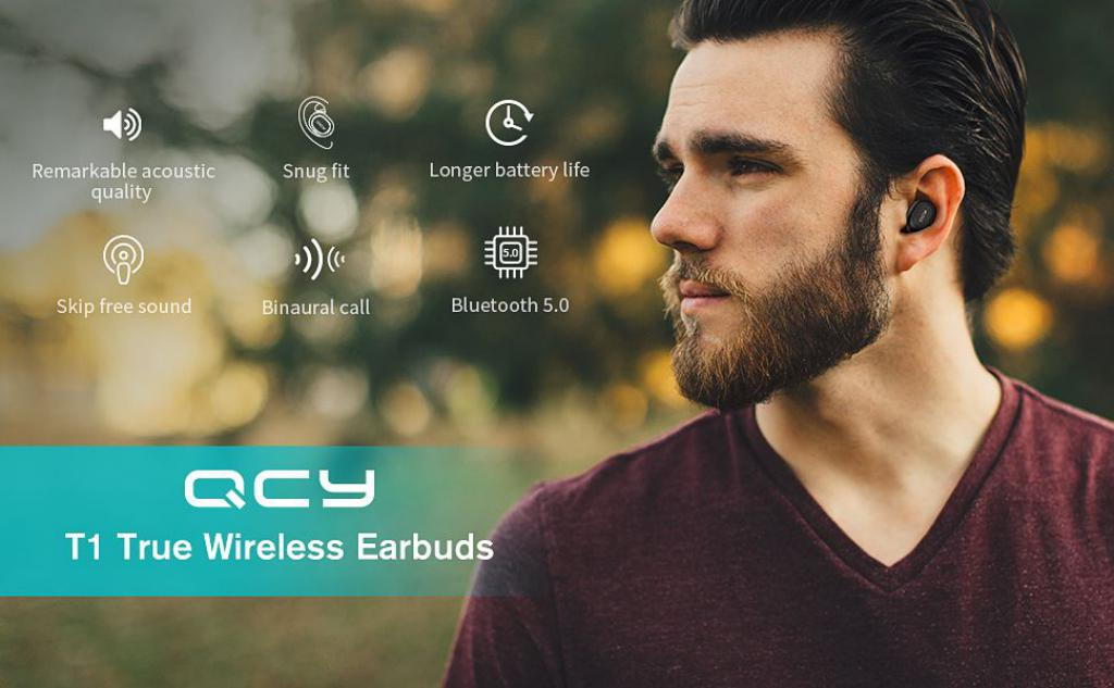 Qcy T1 Tws Bluetooth Wireless Earbuds (5)