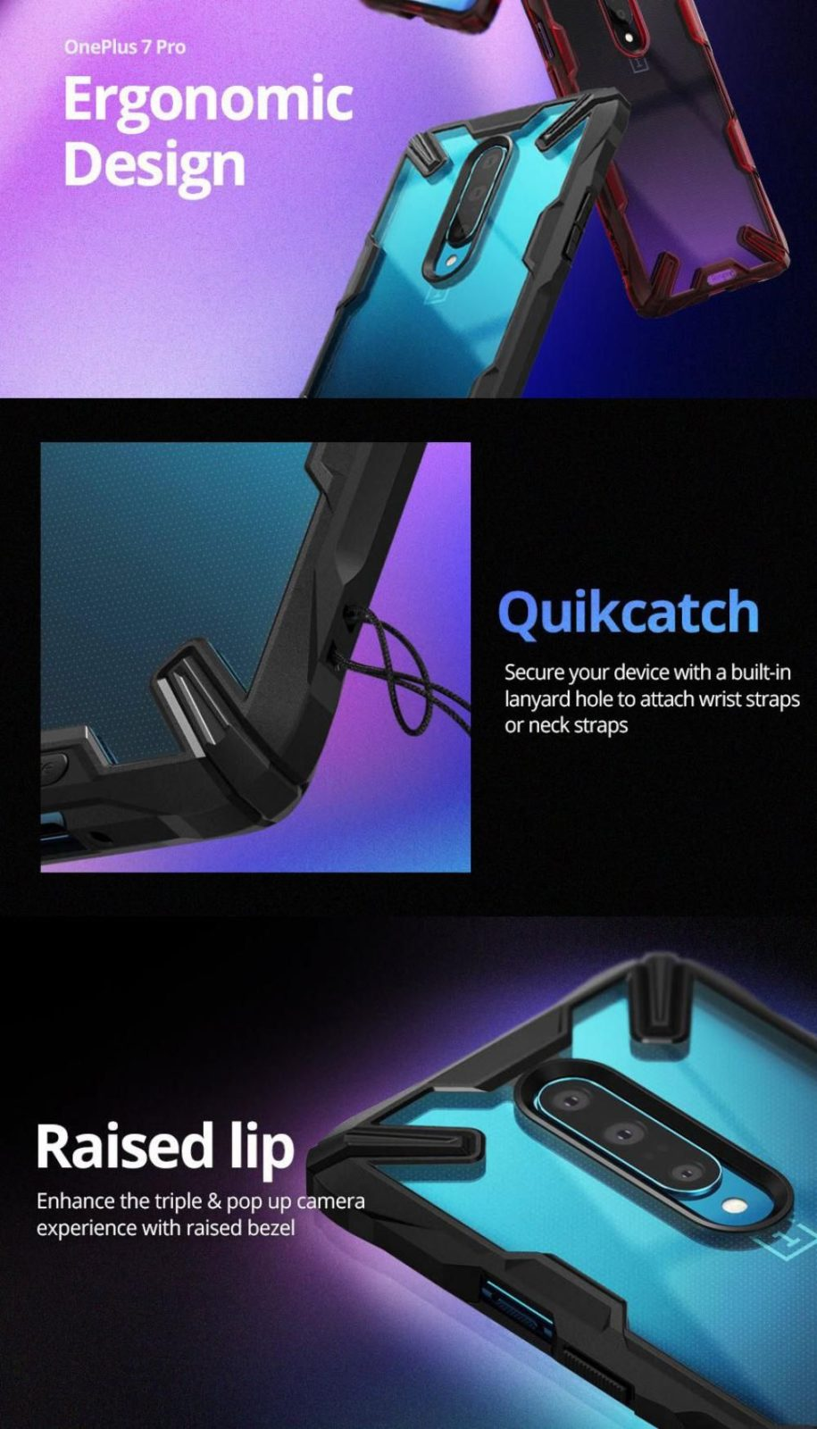 Ringke Fusion X Case For Oneplus 7 7t And 7t Pro (3)