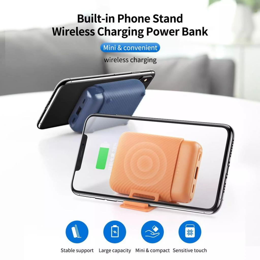 Rock P51 Mini Wireless Charging Power Bank 10000mah (4)