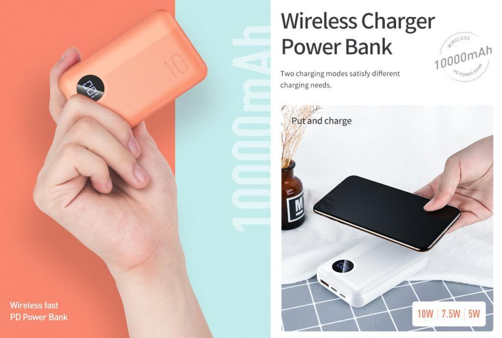 Rock P75 Mini Pd Camera Wireless Charging Power Bank 10000mah (4)