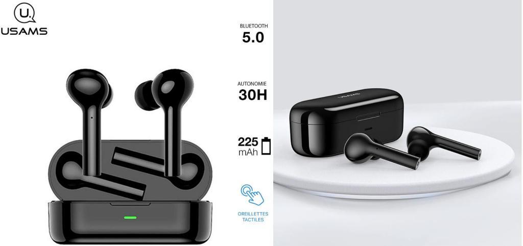 Usams Us La001 Wireless Bluetooth 5 0 Earphones (2)