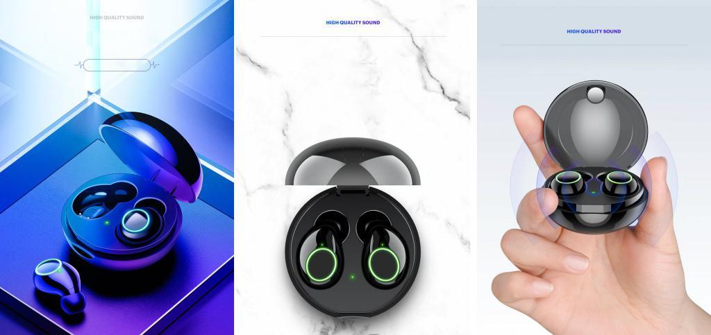 Usams Us Li001 Tws Wireless Earphones (1)