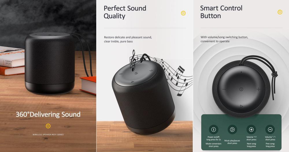 Usams Us Yx005 Wireless Speaker Moyi Series (4)