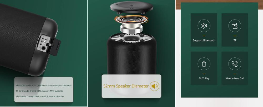 Usams Us Yx005 Wireless Speaker Moyi Series (5)
