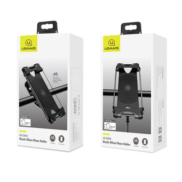 Usams Us Zj053 Bicycle Silicone Mobile Phone Holder (3)