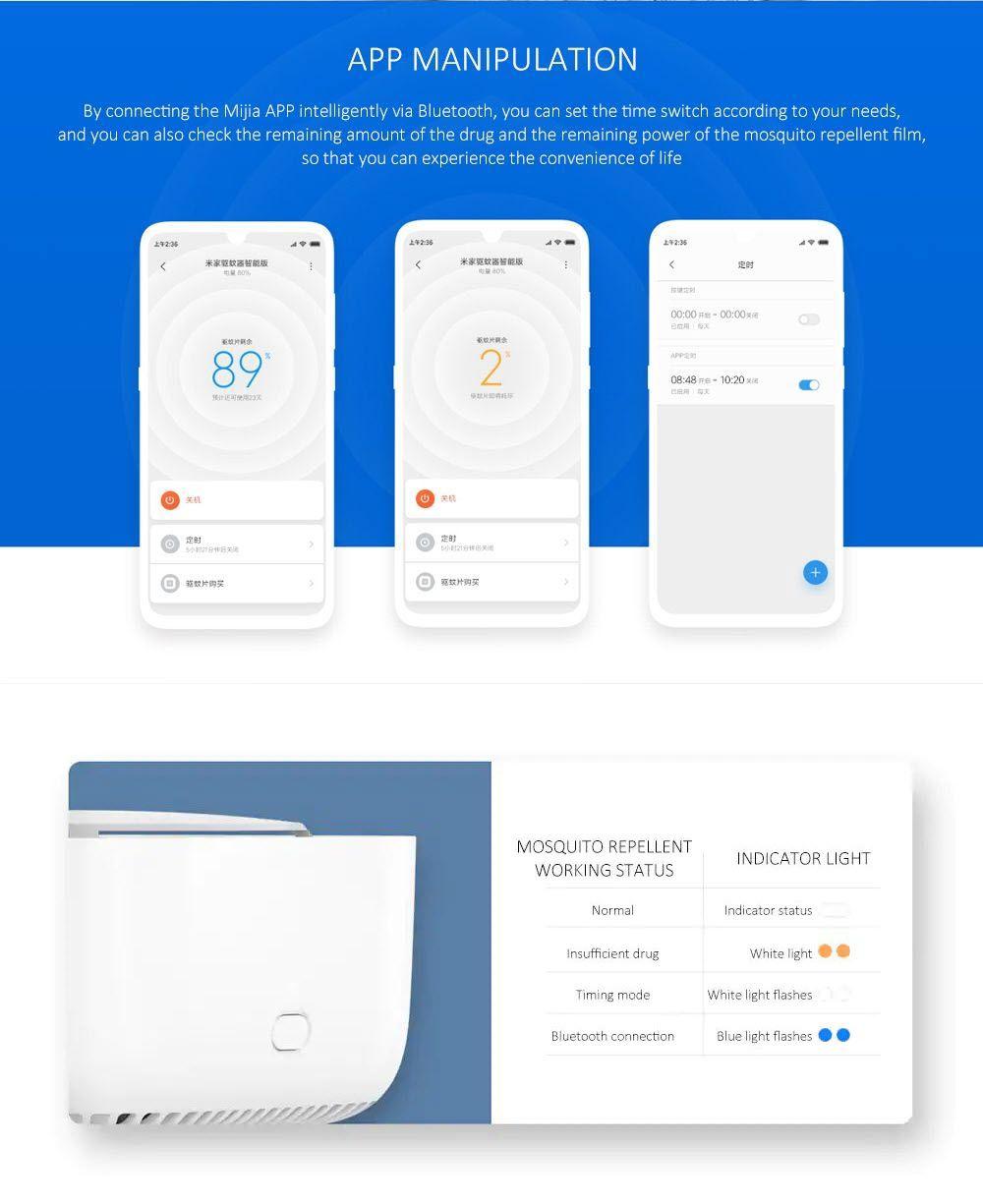 Xiaomi Mijia Mosquito Repellent Killer Smart Version (2)