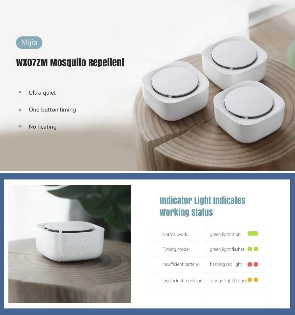 Xiaomi Mijia Wx07zm Mosquito Repellent 3pcs (6)