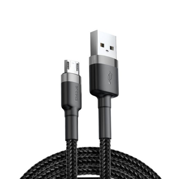 Baseus Cafule Braided Cable Micro Usb With Reversible Double Sided Entry Connector (1)