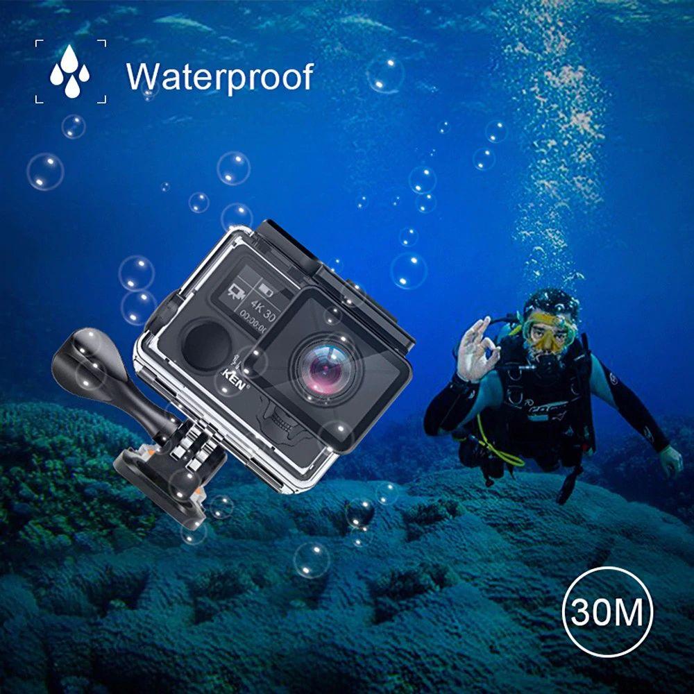 Eken H5s Plus 4k Ultra Hd Wifi 2 4g Sports Camera (3)