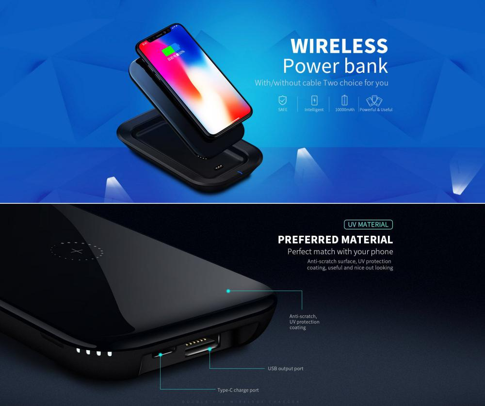 Joyroom 2 In 1 Wireless Charger And Wireless Power Bank (2)