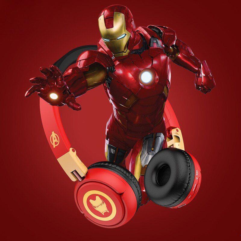 Marvel Avengers Wireless Bluetooth Headphones Captain America Iron Man Black Panther (1)