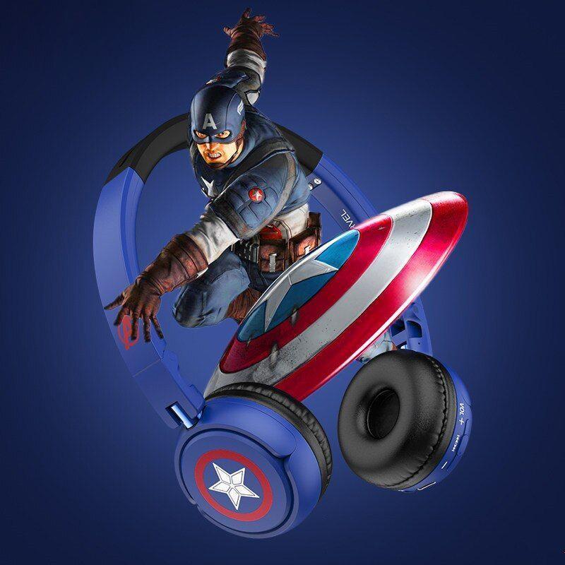 Marvel Avengers Wireless Bluetooth Headphones Captain America Iron Man Black Panther (2)
