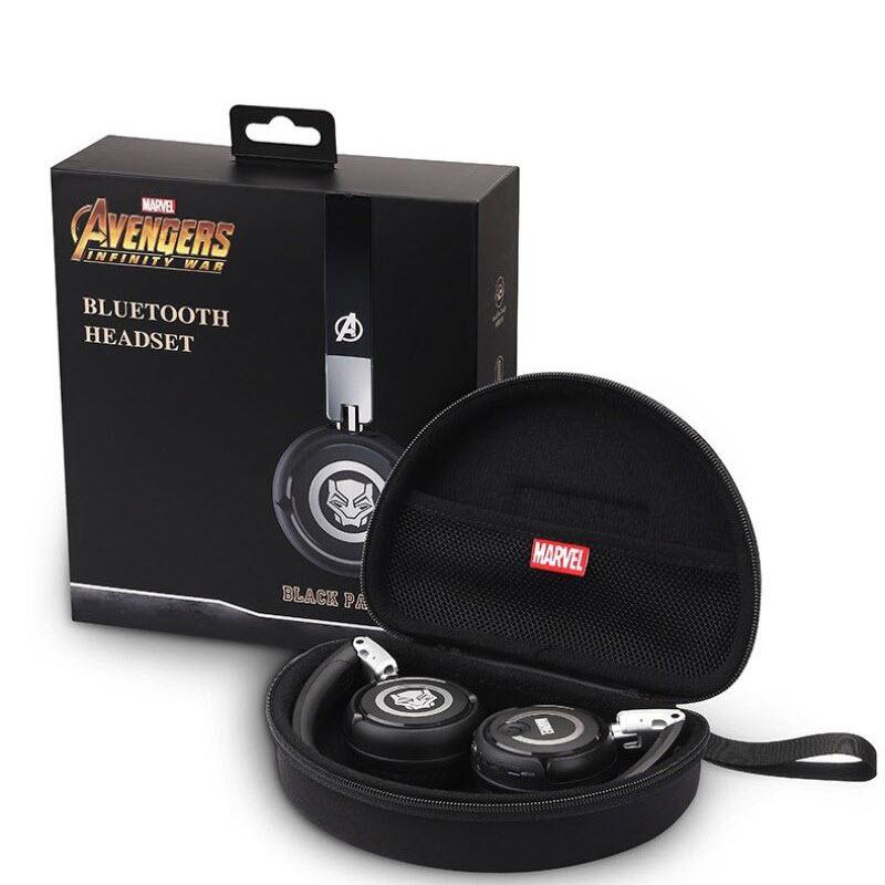 Marvel Avengers Wireless Bluetooth Headphones Captain America Iron Man Black Panther (6)